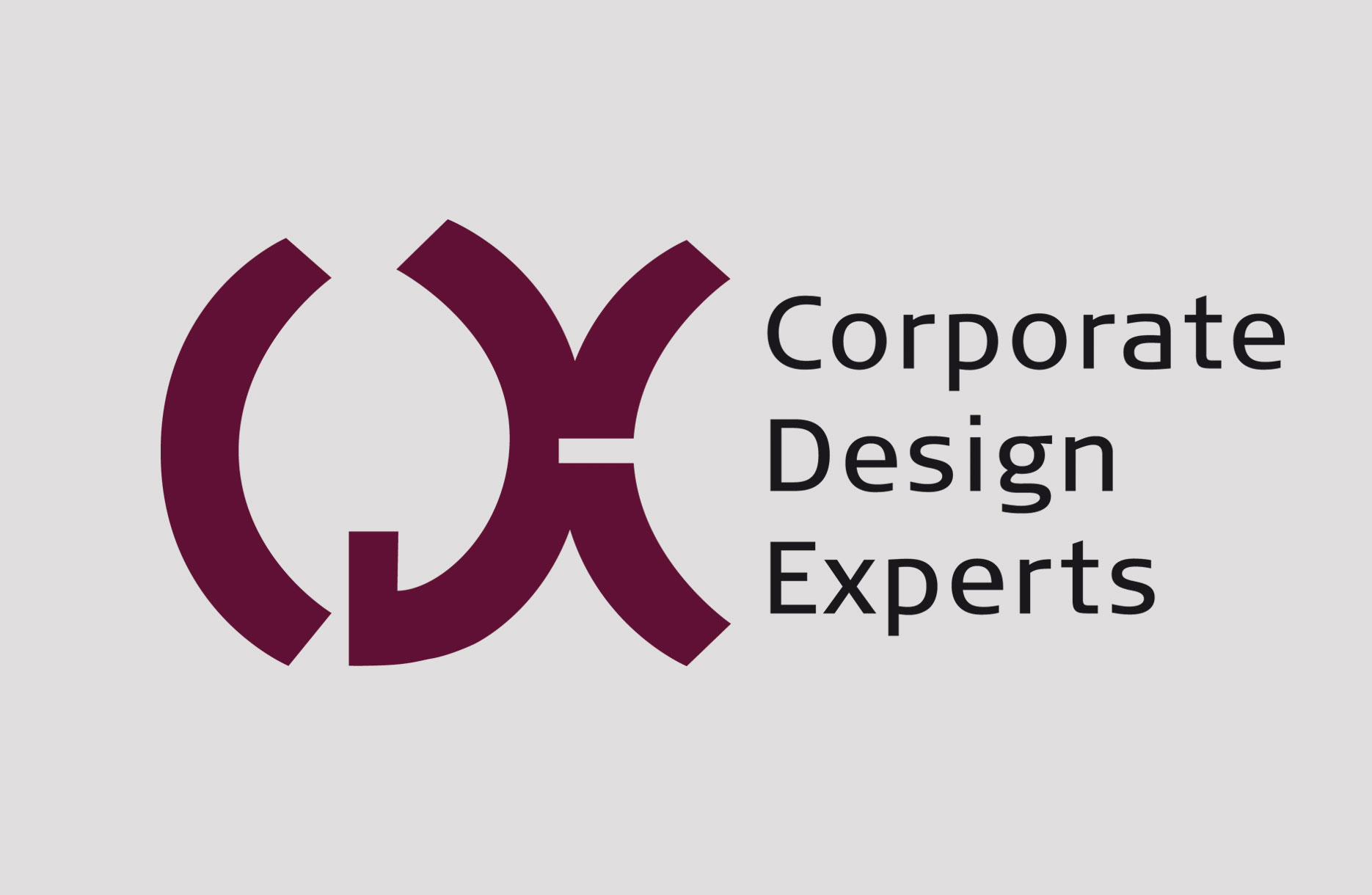 Design des Logos mit Slogan